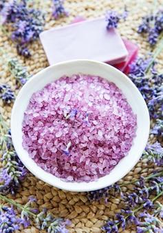 Lavendel spa concept