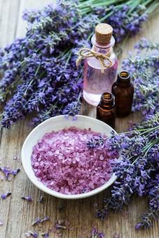 Lavendel spa-producten