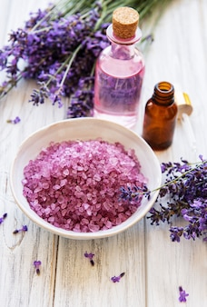 Lavendel spa-producten