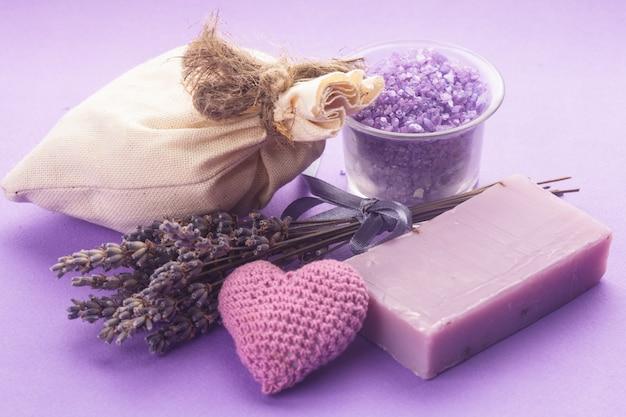 Lavendel spa-set