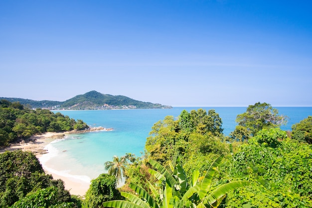 Leamsing strand in phuket thailand