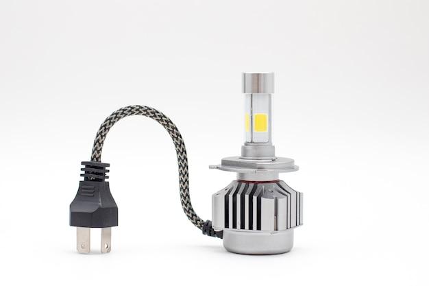 Led-lamp voor autolampen led-autolamp geïsoleerd