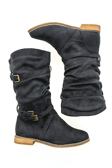 Lederen laarzen