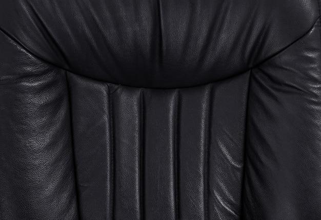 Lederen textuur van fauteuil