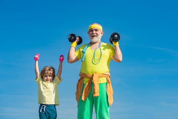 Leeftijd is geen excuus om je gezondheid te verslappen gezond leven en sportconcept motivatie en sportvoorbeeld...