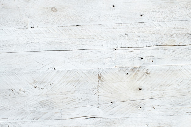 Leeftijd witte houtstructuur achtergrond bovenaanzicht rustiek