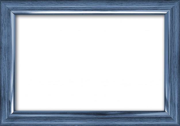 Leeg afbeeldingsframe met een vrije plaats binnen, geïsoleerd op wit