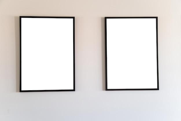Leeg frame mock-up voor tekstbericht of inhoud.