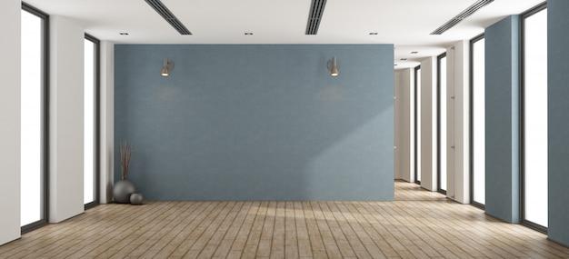 Leeg minimalistisch interieur