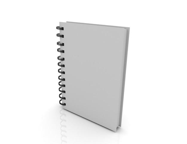 Leeg notitieboekjeomslagconcept