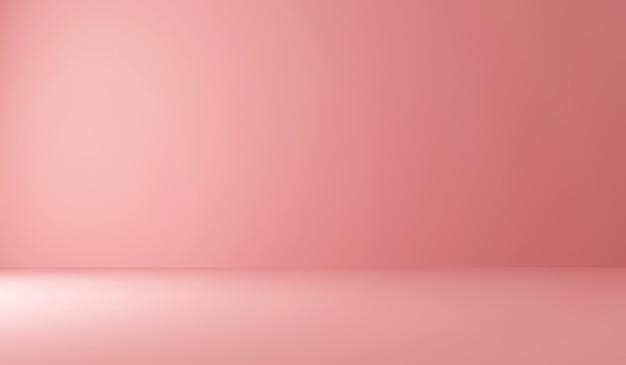 Leeg roze met licht