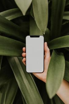 Leeg schermafbeelding mobiele telefoon, digitaal apparaat