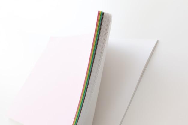 Leeg vel papier sjabloon