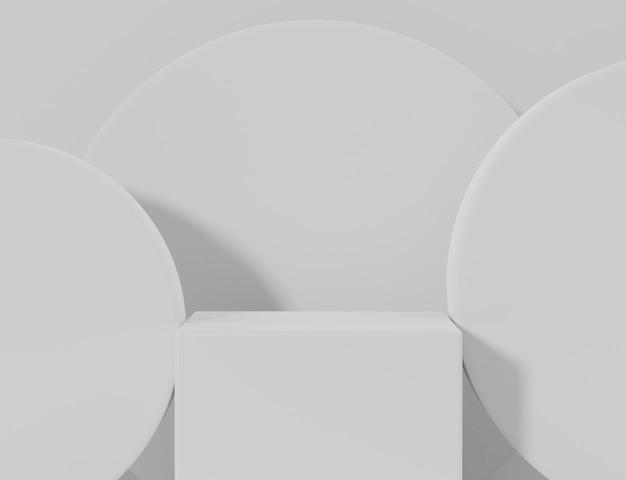 Leeg vertoningspodium voor productpresentatie