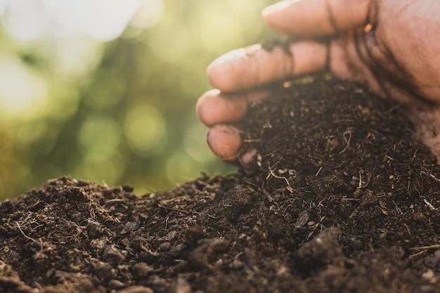 Leem voor cultivatie.