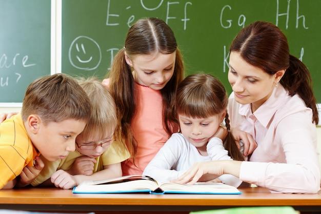 Leerlingen aandacht