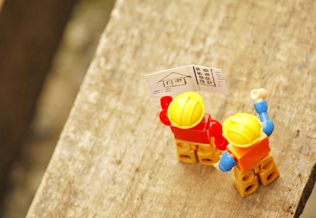 Lees bouwplannen instructies