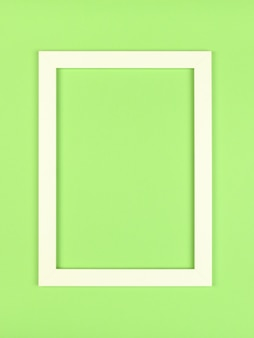 Lege afbeeldingsframe op getextureerde pastel gekleurde achtergrond