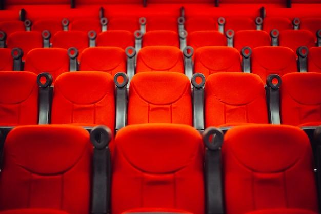 Lege bioscoopzaal