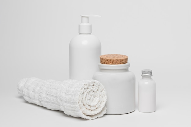 Lege cosmetische producten verpakking