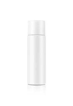 Lege cosmetische verpakking witte serum fles geïsoleerd
