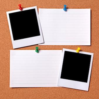 Lege foto's met indexkaarten