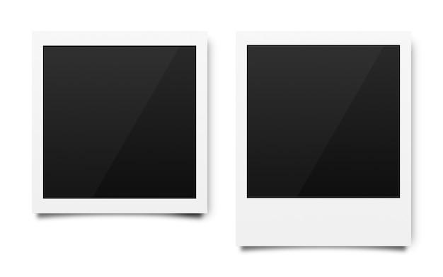 Lege fotoframes voor camerafilms