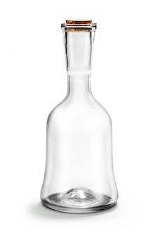 Lege glazen fles