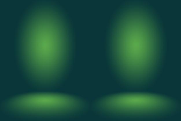 Lege groene studio goed te gebruiken als achtergrond, websitesjabloon, frame