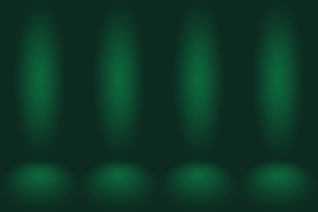 Lege groene studio goed te gebruiken als achtergrondwebsite templateframe