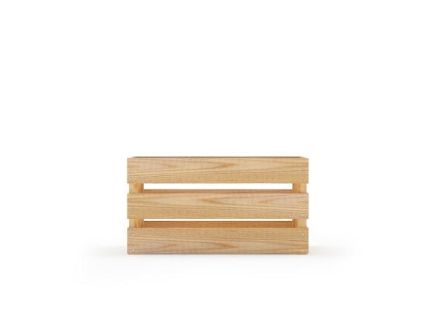Lege houten doos
