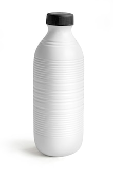Lege melk of juice pack geïsoleerd