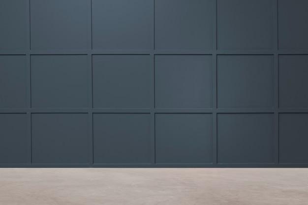 Lege moderne luxe kamer interieurontwerp