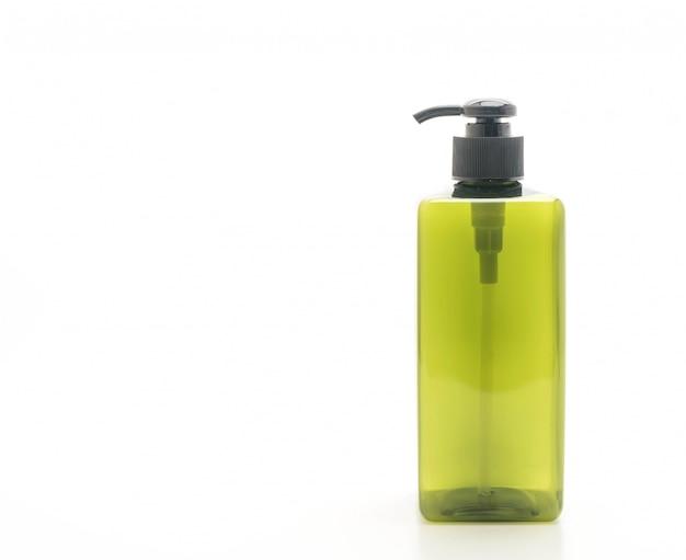 Lege pompfles voor shampoo of zeep