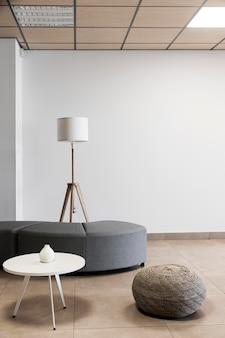 Lege ruimte in een kantoorgebouw