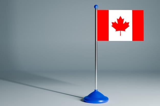 Lege tafelvlag, geschikt voor ontwerp