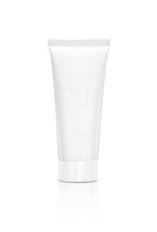 Lege verpakkende kosmetische geïsoleerde buis