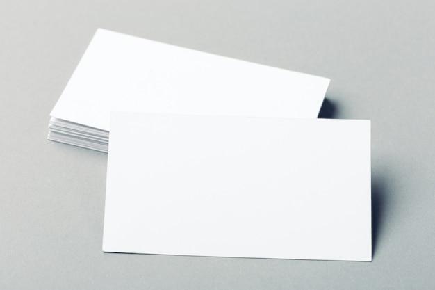 Lege visitekaartjes