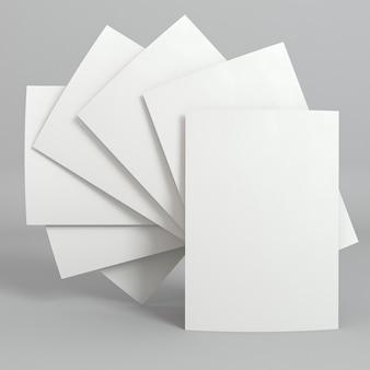Lege zakelijke kopie ruimte visitekaartjes circulaire positie