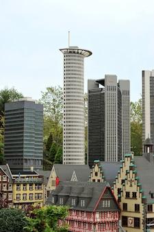 Legoland - mini-europa van lego-stenen, gunzburg, duitsland