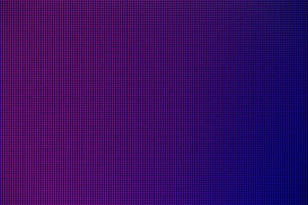 Leidene lichten van het leidene computermonitorscherm