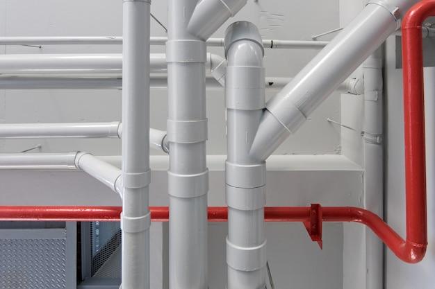 Leidingsysteem in gebouw
