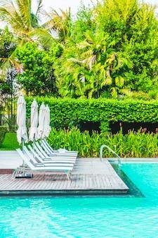 Leisure luxe zwembad zomer hotel