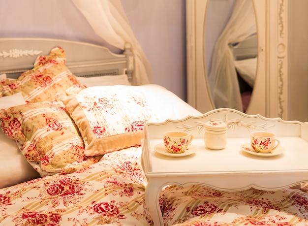 Lekker bed in een hotelnummer