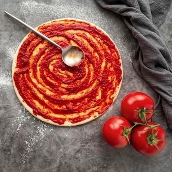 Lekker traditioneel pizzaregeling