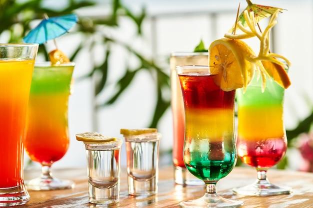 Lekkere alcoholische drank in een hotel