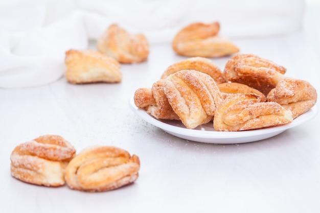 Lekkere gebakken botersuiker koekjes