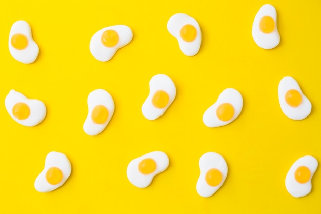 Lekkere gelei gebakken eieren
