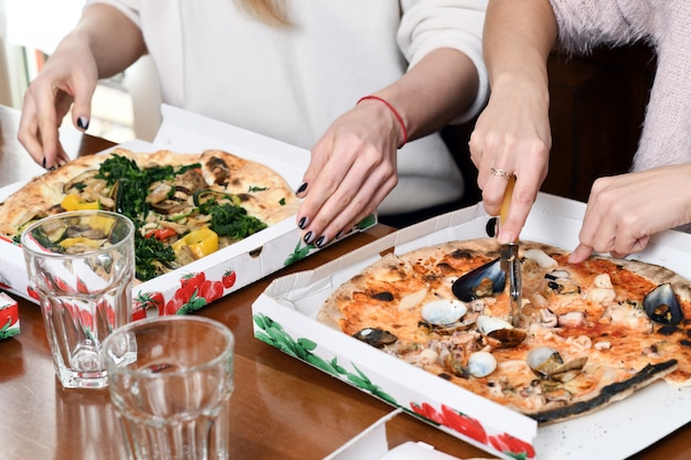 Lekkere italiaanse pizza