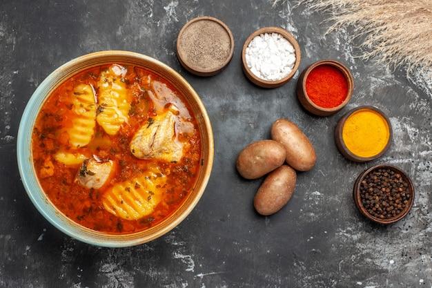 Lekkere kippensoep met aardappel